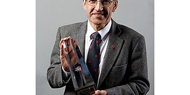 Professor Ted Barris shares Libris Award with astronaut Chris Hadfield Image