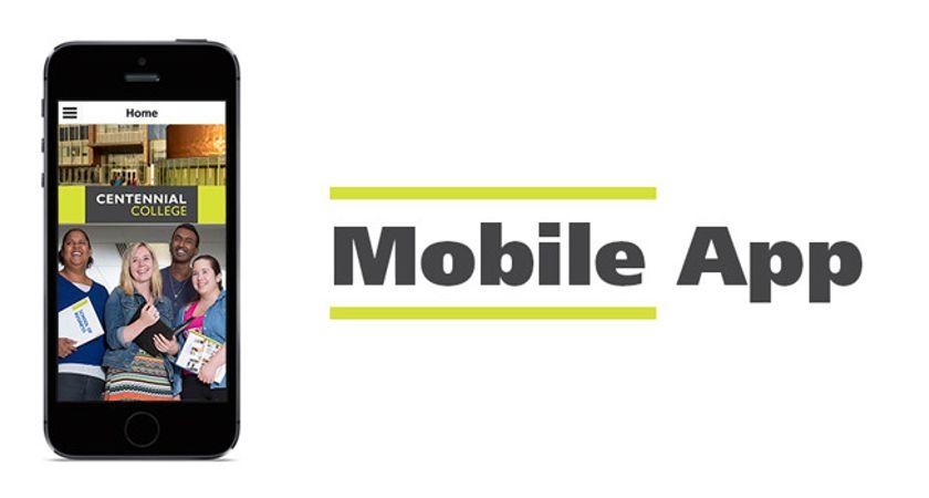Centennial College Mobile App, CentennialC, is now available.