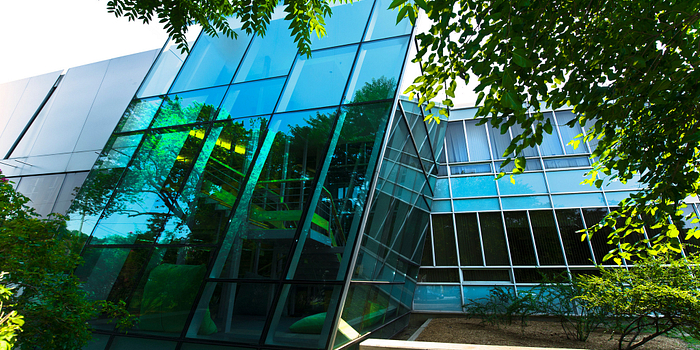 Picture of the Centennial College Story Arts Centre Library from the outside