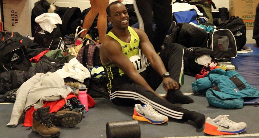 Picture of Centennial College student and Colts cross country and indoor track athlete Lugei Juma