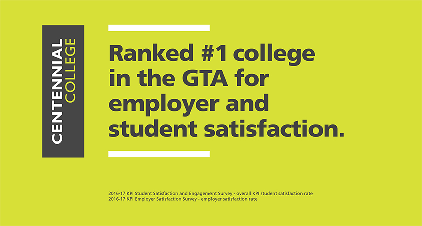 Banner of Centennial ranked #1 in student and employee satisfaction 2017