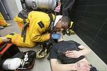 Mock disaster simulation Mar. 28 Image