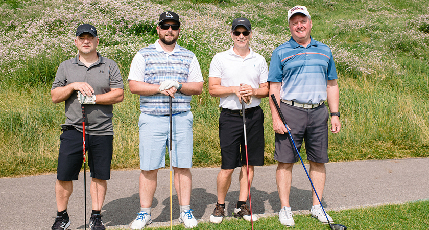 Ann Buller's Foursome at the Centennial College Annual Golf Tournament 2019