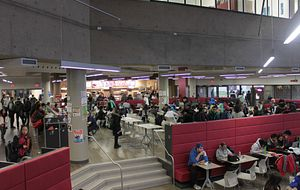 Picture of the Centennial College Progress Campus Cafeteria