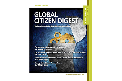 Global Citizen Digest cover Volume 2 Issue 1