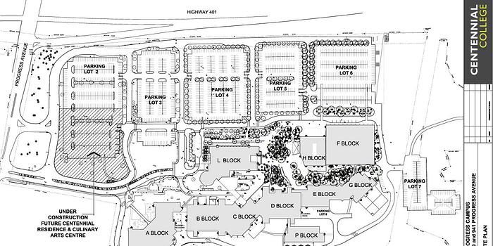 Progress Campus parking during Convocation Week June 12-16