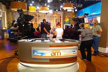 Journalism students visit Canada AM Image