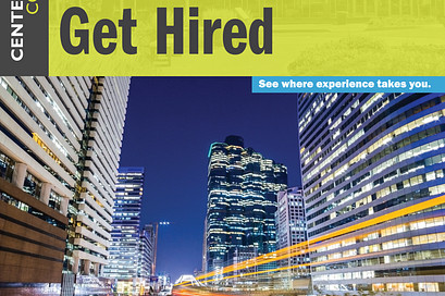 Global Citizens Get Hired brochure cover