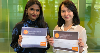 Two Centennial Students are officially the best Microsoft Word Users in the country Image