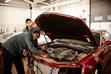 Knowing what's under (and over) the hood: Automotive careers Image