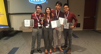 Centennial student team earns second-place win in cybersecurity Image