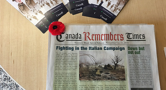 Remembrance Day Ceremony Honours War Veterans Image