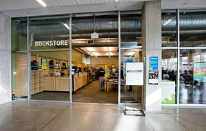 picture of the centennial college morningside campus bookstore entrance