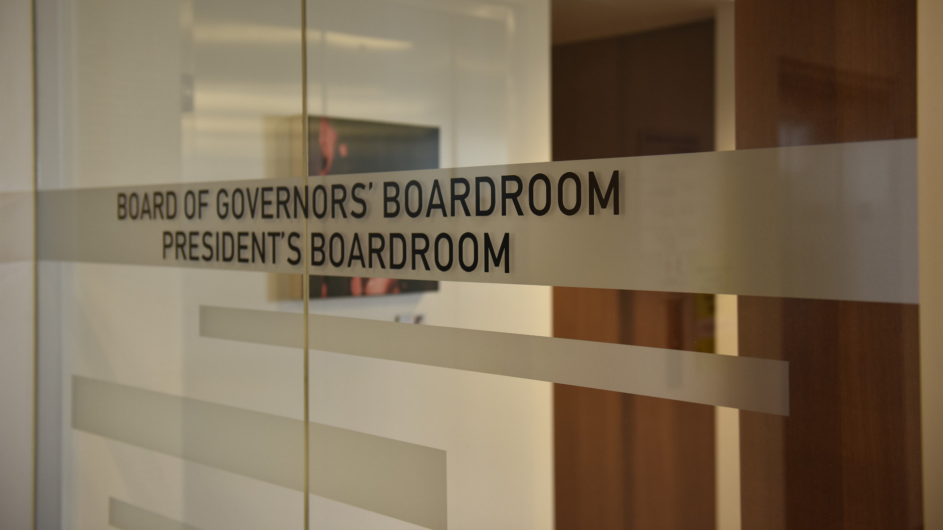 Board of Governors' Boardroom / President's Boardroom